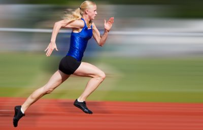 短距離走者のような瞬発力のある筋肉